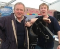 Pat with Hector O'Heochagain